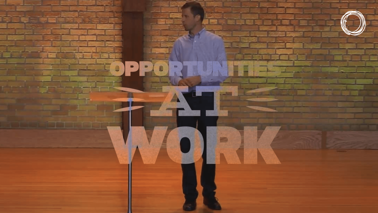 Opportunities at Work