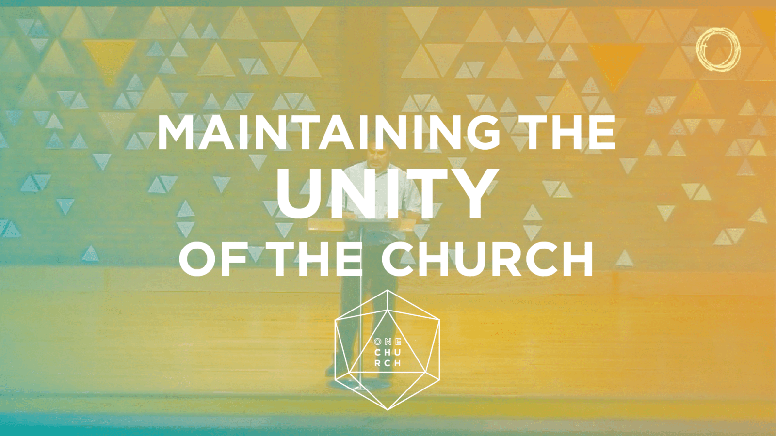 Maintaining the Unity of the Spirit