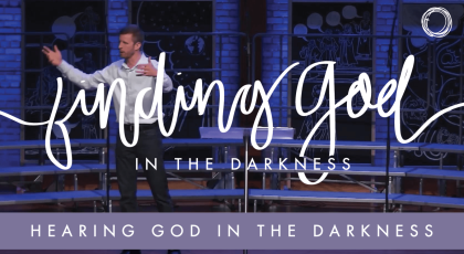 Hearing God in the Darkness: Job's Encounter with the Living God